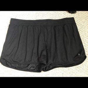 Mesh danskin workout shorts